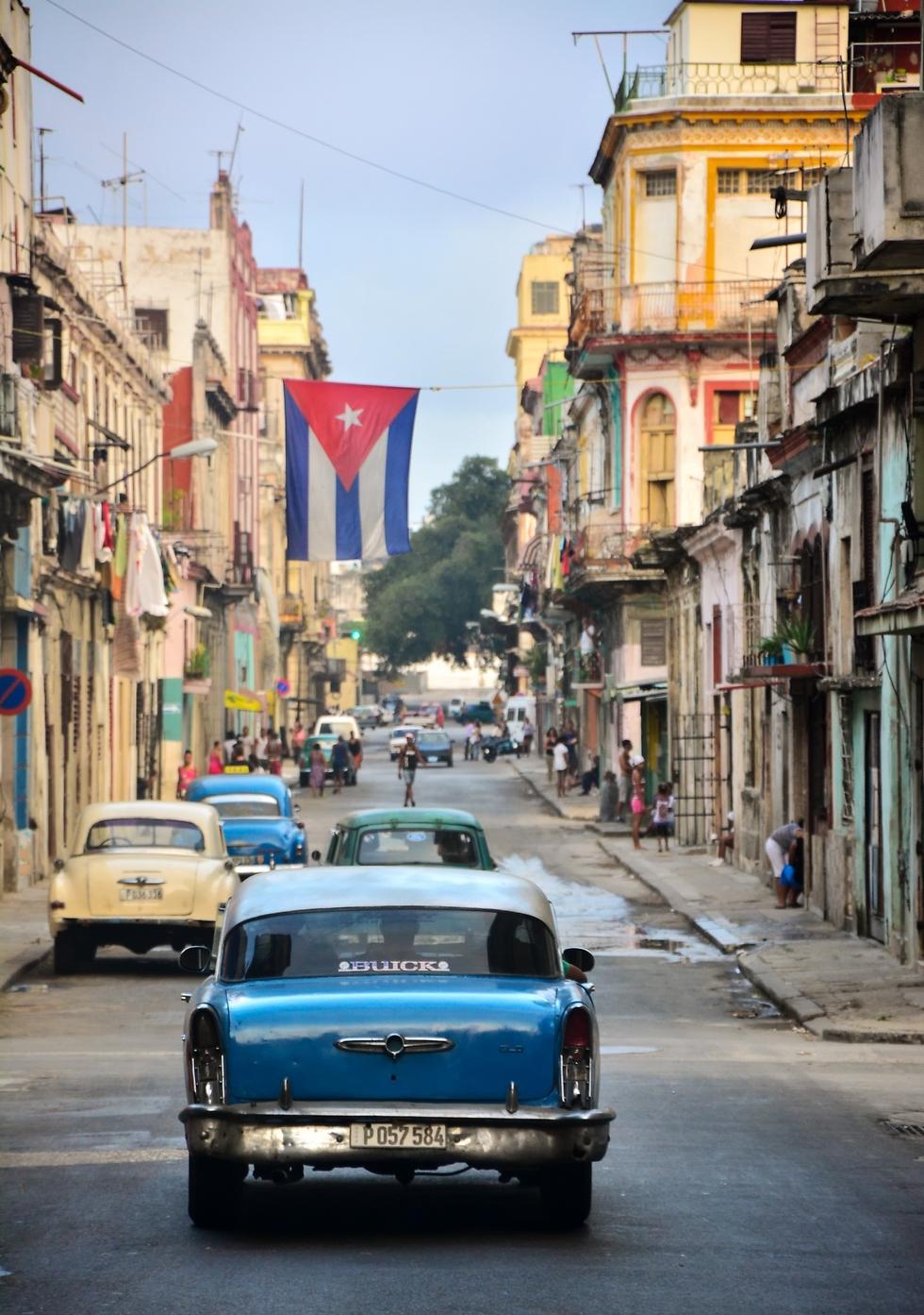 משטר קומוניסטי. קובה (צילום: עידו וייסמן)