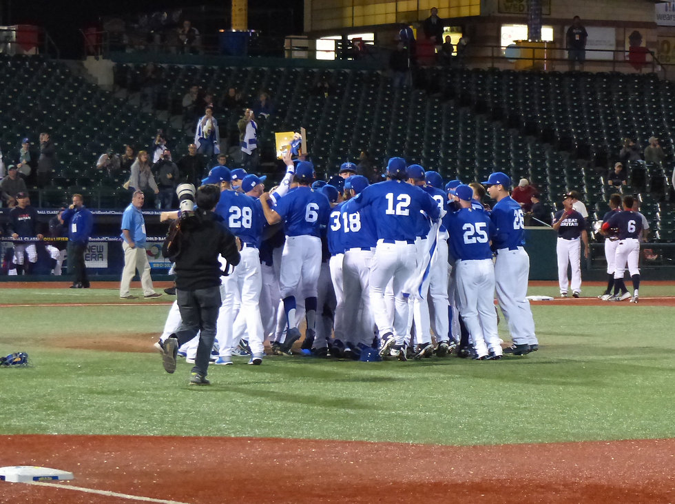 Israel qualifies for the WBC (Photo: Margo Sugarman) (Photo: Margo Sugarman)