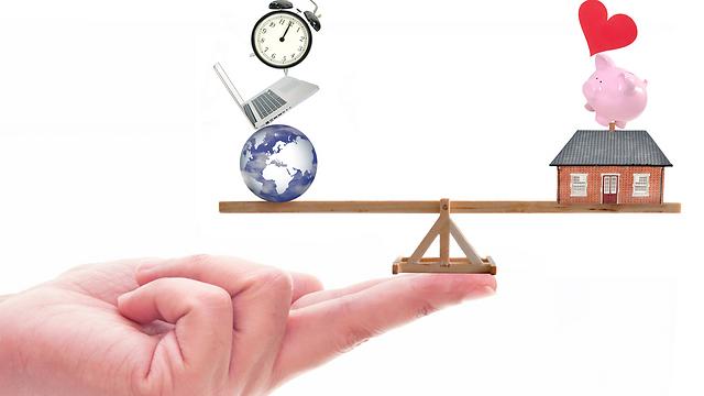שיווי המשקל בין בית, אהבה ועבודה  (צילום: Shutterstock)