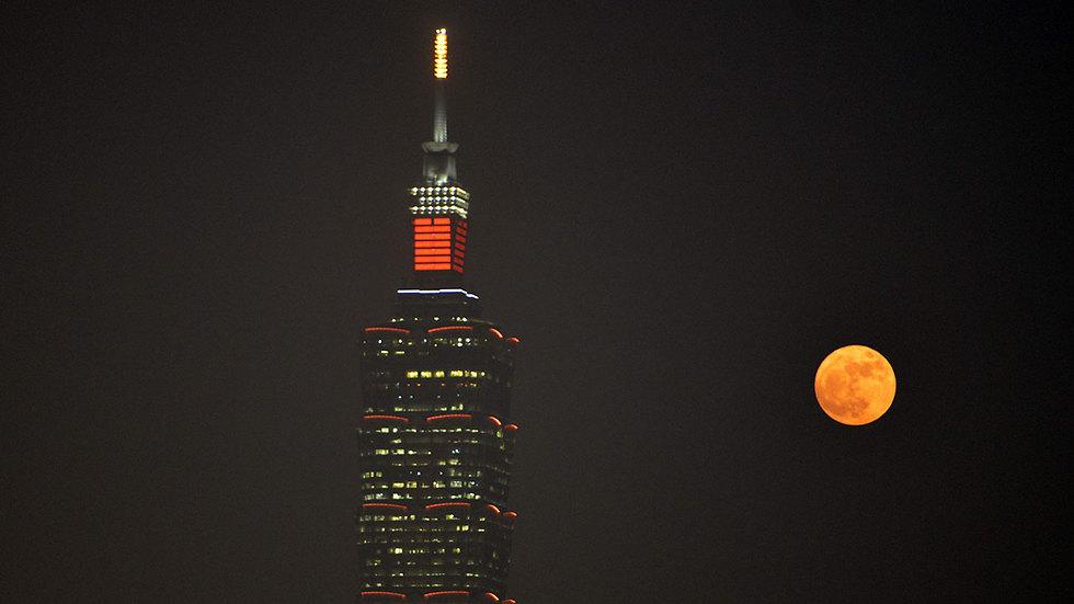 טייוואן, הערב (צילום: AFP)