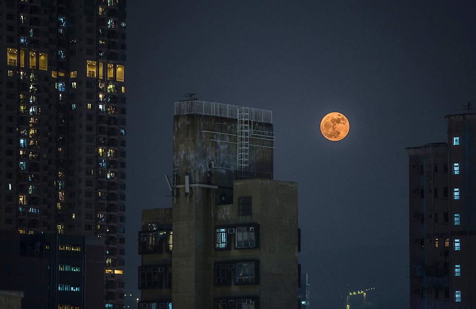 שמי הונג קונג (צילום: AFP)