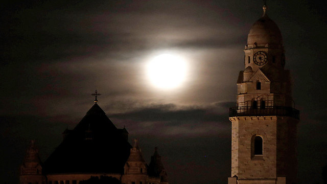 בעיר העתיקה בירושלים (צילום: רויטרס)
