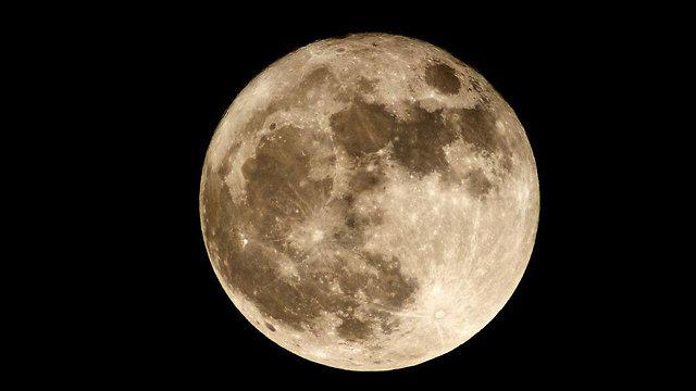 הירח בסופר-מון כפי שצולם לפני כשנה.  (צילום: איל לנזיני) (צילום: איל לנזיני)