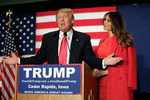 """""""אהיה מאוד ממלכתית, בסגנון בטי פורד וג'קי קנדי"""". מלניה טראמפ (צילום: Gettyimages)"""