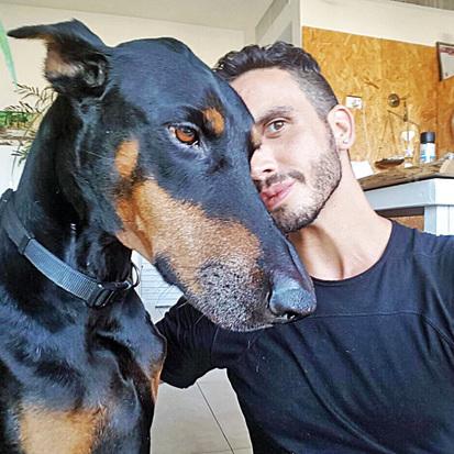 מושיק גלאמין והכלב ג'וקי: