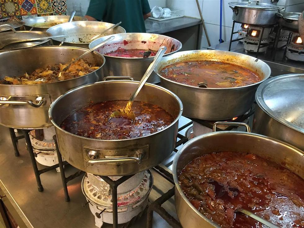 """מסעדת """"עזורה"""" בירושלים (צילום: יח""""צ) (צילום: יח"""