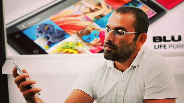 """שמואל אוהב-ציון, מנכ""""ל חברת Blu (צילום: פייסבוק)"""