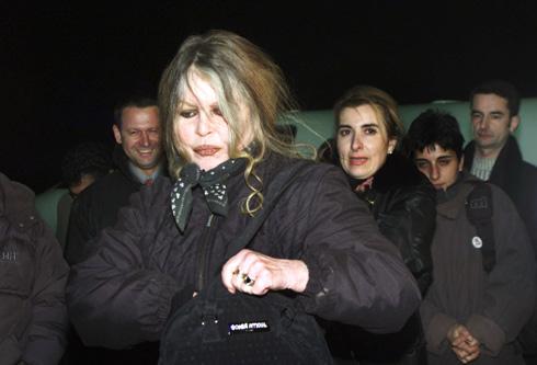 מסרבת בתוקף להתראיין. בארדו, 2001 (צילום: Gettyimages)