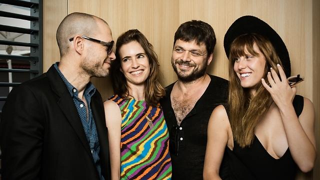 אלינה לוי, אוהד קנולר, נעמה פרייס ונדב לפיד בפסטיבל קאן (צילום: Semaine de la Critique) (צילום: Semaine de la Critique)