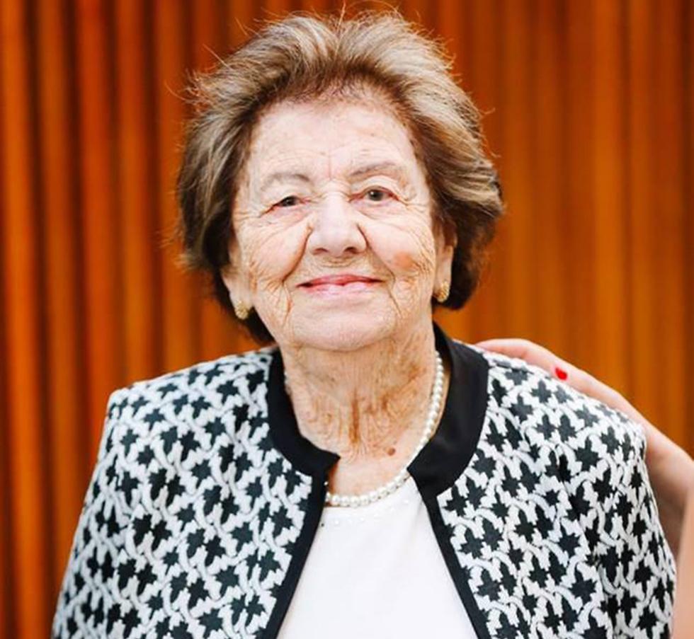 בת 95 במותה. פנינה גרינשפן-פרימר (באדיבות המשפחה) (באדיבות המשפחה)