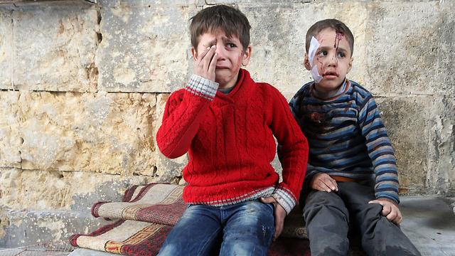 """גם האו""""ם יכול היה להוביל החלטות ופעולות נמרצות יותר על מנת לסייע הומניטרית לסוריה ולצמצם את היקף הזוועה (צילום: רויטרס) (צילום: רויטרס)"""