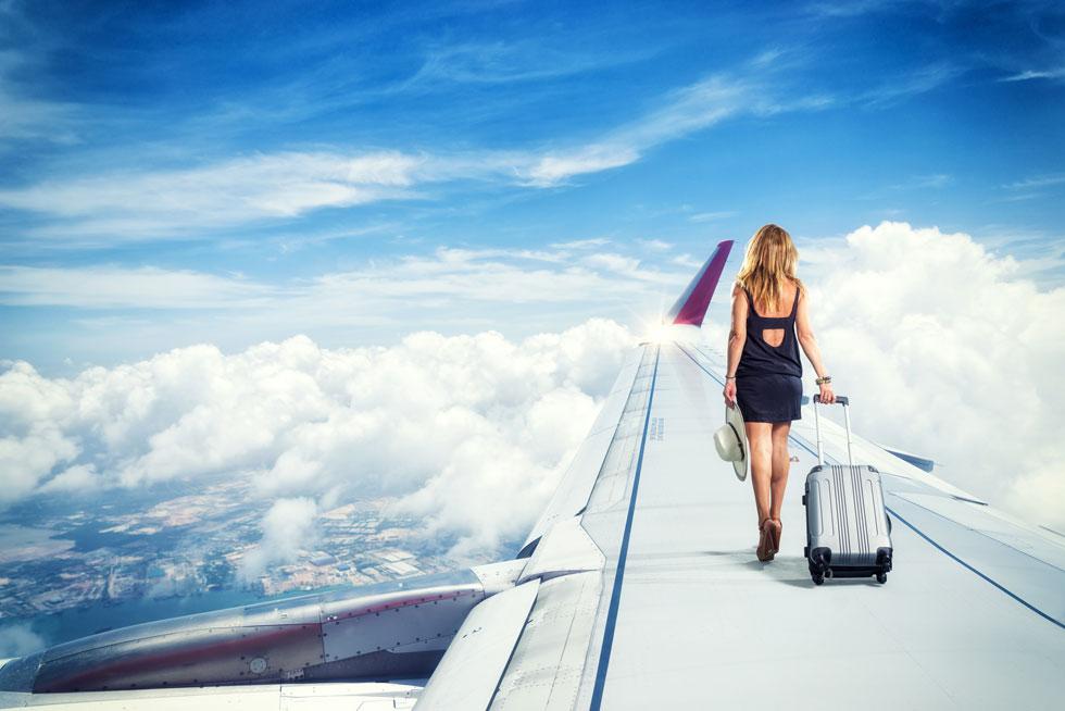 ארבע שנים של געגועים עזים למזוודה המקרטעת שלי, לסירחון של המטוס ולעולם שנמצא שם, מעבר להרי הבִּיבִּי (צילום: Shutterstock)