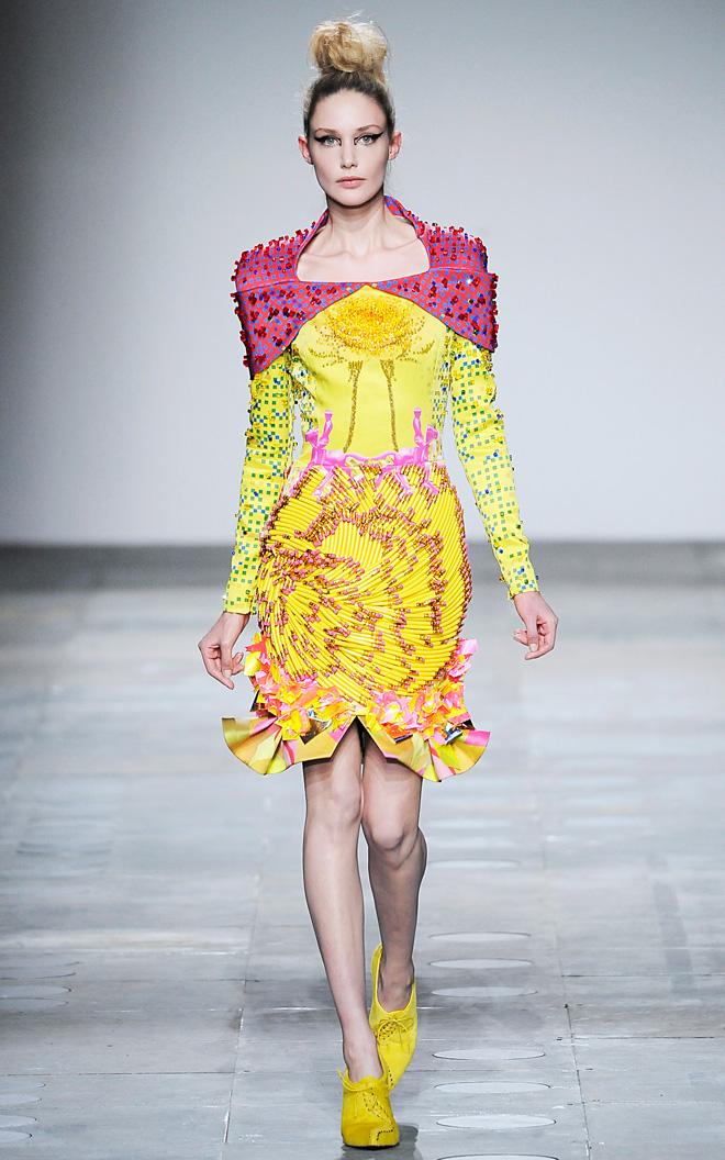Mary Katrantzou, Autumn/Winter 2012-2013, Ready-to-wear, Courtesy Mary Katrantzou