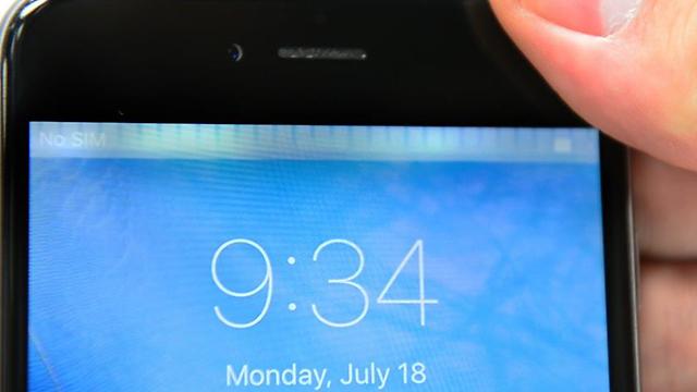 מכשיר אייפון 6. ה-CIA שולט מרחוק? (צילום מסך)