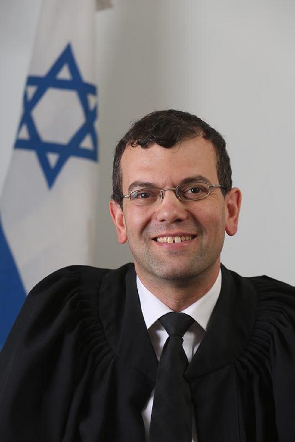 השופט שמואל הרבסט (באדיבות אתר הרשות השופטת)