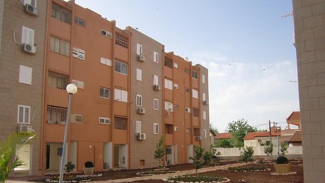 בניין דיור ציבורי בבית שאן (צילום: עמידר) (צילום: עמידר)