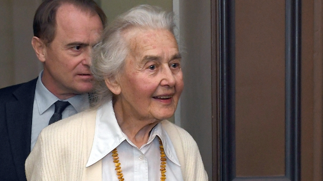 Ursula Haverbeck (Photo: AP)