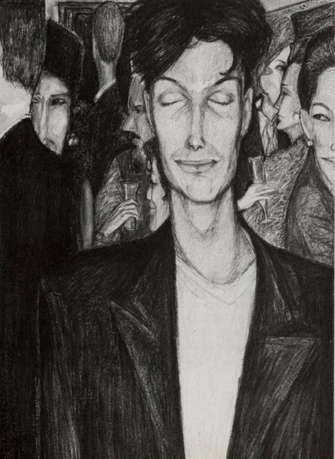 """""""קל לי שהעבודה שלי כבר לא עוסקת בגוף הפרטי שלי"""". ציור של תורג'מן (צילום: בועז לדורין פרנקפורט)"""