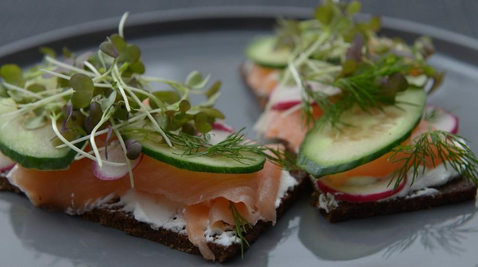 ארוחה סקנדינבית (צילום: ירון ברנר)