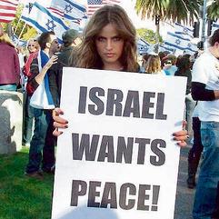 """תשבי מפגינה למען ישראל. """"קיבלתי הצעות ממפלגות ישראליות, אבל אלה לא היו ההצעות הנכונות"""""""