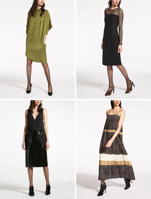 מקס מרה. קו השמלות בולט במיוחד, עם מגוון דגמים מצוינים