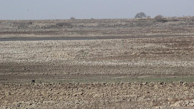 מאגר בני ישראל ריק (צילום: אלי סגל) (צילום: אלי סגל)