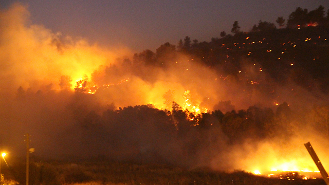 Nirit fire (Photo: Naama Hirsch)