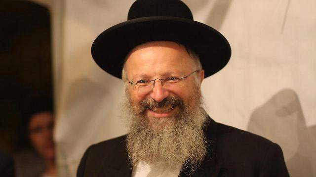 Rabbi Shmuel Eliyahu (Photo: Emannuel Maimon)