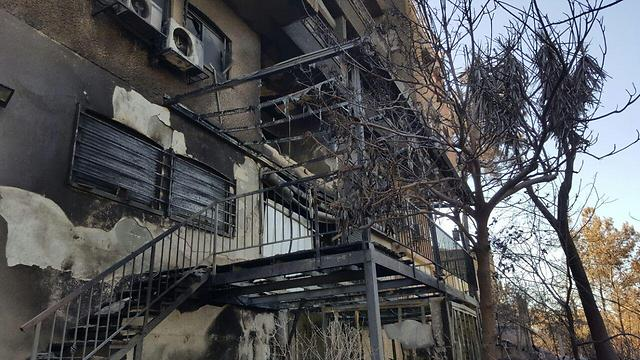 Damages caused to homes in Haifa (Photo: Mohammad Shinawi)
