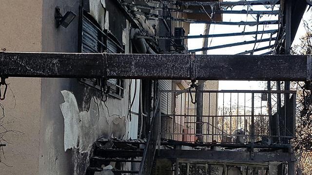 Damaged homes in Haifa (Photo: Yoav Zitun) (Photo: Yoav Zitun)