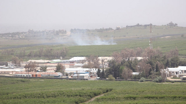 The Golan Heights near the border with Syria (Photo: Eli Segal)
