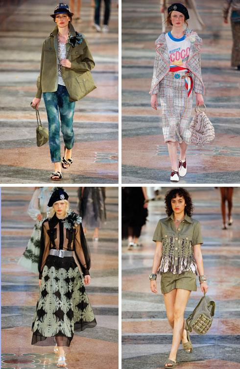 ענף האופנה זינק על היעד האקזוטי החדש. תצוגת הקרוז של שאנל בהוואנה (צילום: Gettyimages)