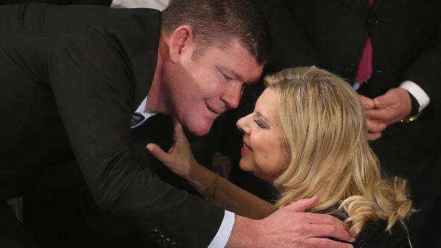 Packer and Sara Netanyahu (Photo: Getty Images)