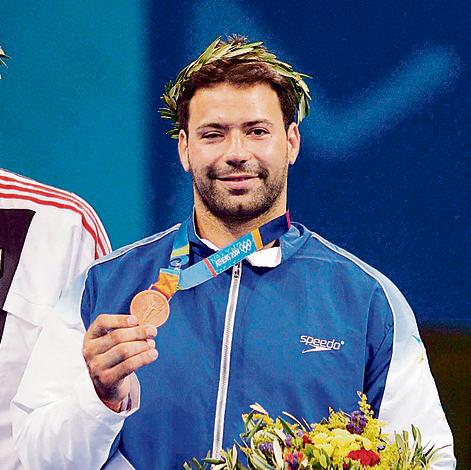 זוכה: זאבי עם מדליית הארד באולימפיאדת אתונה, 2004