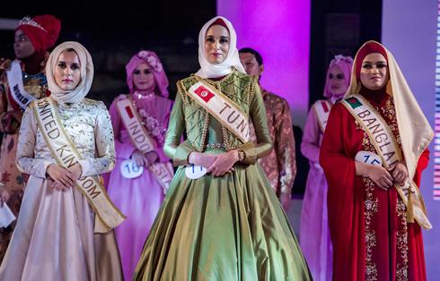 התחרות מאגדת מדי שנה 20 מתמודדות מוסלמיות. World Muslamia (צילום: Gettyimages)