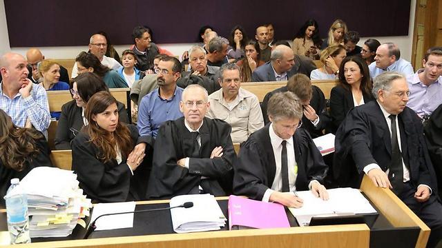 הדיון היום בבית המשפט (צילום: מוטי קמחי) (צילום: מוטי קמחי)
