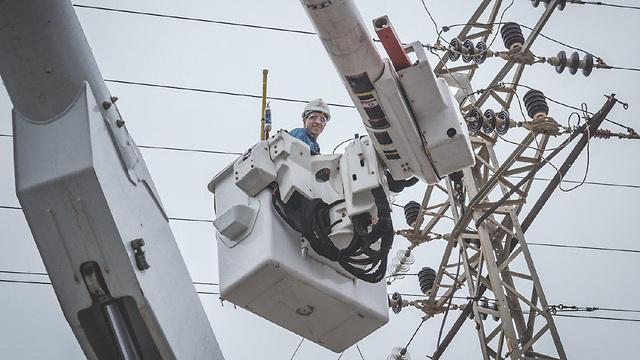 (צילום: תום ביחובסקי, חברת החשמל) (צילום: תום ביחובסקי, חברת החשמל)