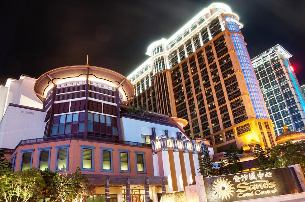 """מלון """"Sands Cotai Central"""" במקאו. מחוץ לחמשת הגדולים ()"""