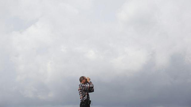 עננים השתלטו על שמי תל אביב (צילום: ירון ברנר) (צילום: ירון ברנר)