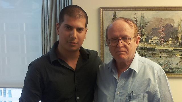 עורכי הדין יעקב וינרוט ועמית חדד המייצגים את שרה נתניהו ()