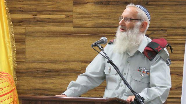 Chief Military Rabbi Brig. Gen. Eyal Krim