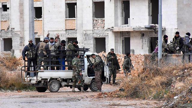 Assad's army (Photo: AFP)