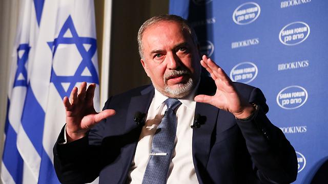 Defense Minister Avigdor Lieberman (Photo: Saban Forum)
