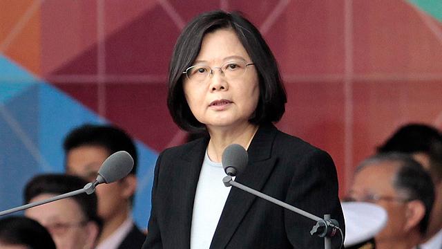 נשיאת טייוואן, טסאי אינג ון. היסטוריה בשיחת טלפון של 10 דקות (צילום: AP) (צילום: AP)