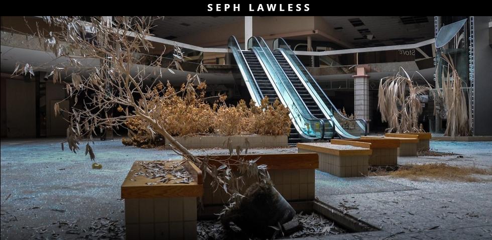 """קניון נטוש בארה""""ב (צילום מסך מהאתר של הצלם סף לולס: http://sephlawless.com/)"""