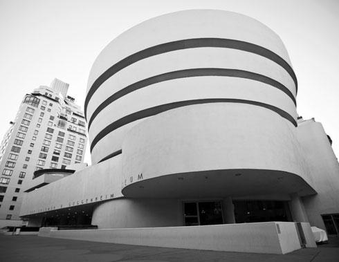 המקורי: מוזיאון גוגנהיים בשדרה החמישית במנהטן, בתכנונו של פרנק לויד רייט. אחריו באה בילבאו, ואבו דאבי, והלסינקי (שבסוף לא) (צילום: gettyimages)