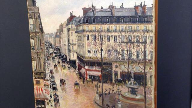 Rue St.-Honore, Apres-Midi, Effet de Pluie (Photo: AP) (Photo: AP)