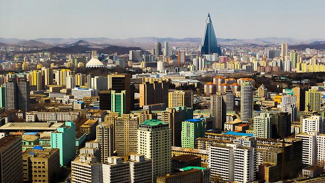 פיונגיאנג, בירת צפון קוריאה (צילום: shutterstock) (צילום: shutterstock)
