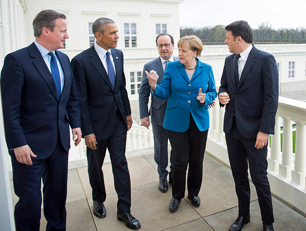 ממחישה את הצונאמי המדיני. חמשת מנהיגים זה לצד זה (צילום: gettyimages) (צילום: gettyimages)