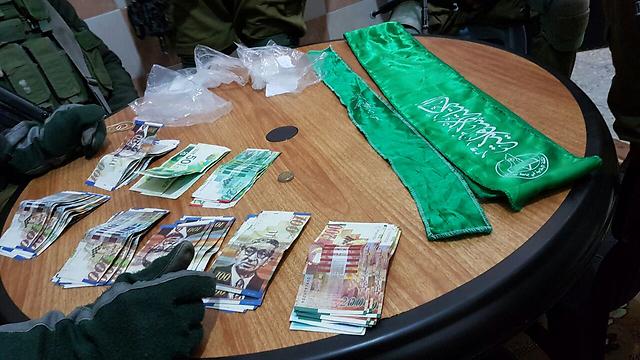 Money cache found in possession of the Hamas operative (Photo: IDF Spokesperson's Unit)